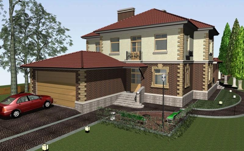 Готовые Проекты Кирпичных Домов
